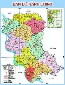 Bản đồ Hành chính